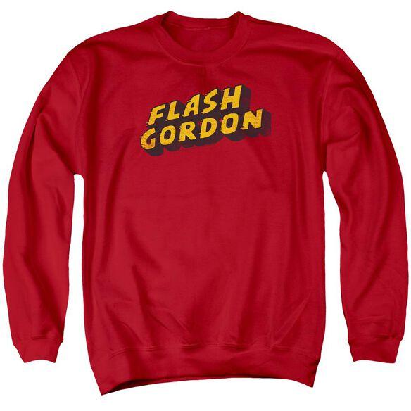 Flash Gordon Logo Adult Crewneck Sweatshirt