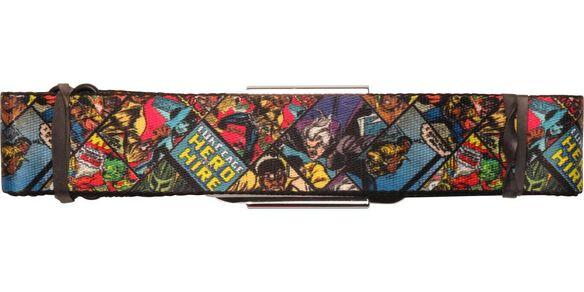 Luke Cage Hero Panels Seatbelt Belt