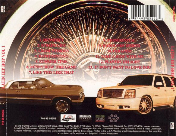 Latin Hip Hop V1 0803