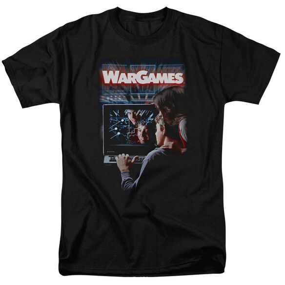 Wargames Poster Short Sleeve Adult T-Shirt