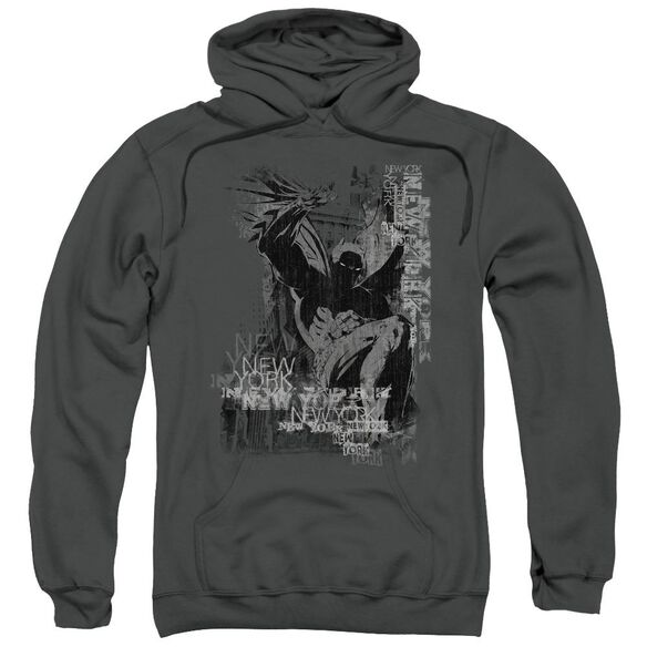 Batman The Knight Life Adult Pull Over Hoodie