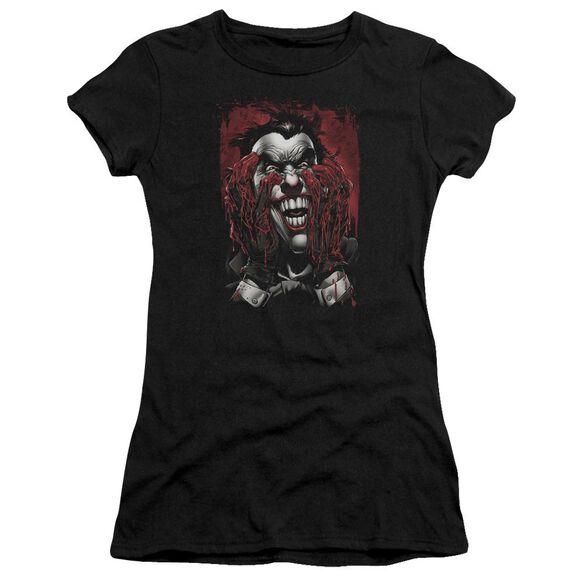 Batman Blood In Hands Short Sleeve Junior Sheer T-Shirt