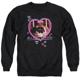 Sixteen Candles Candles - Adult Crewneck Sweatshirt - Black