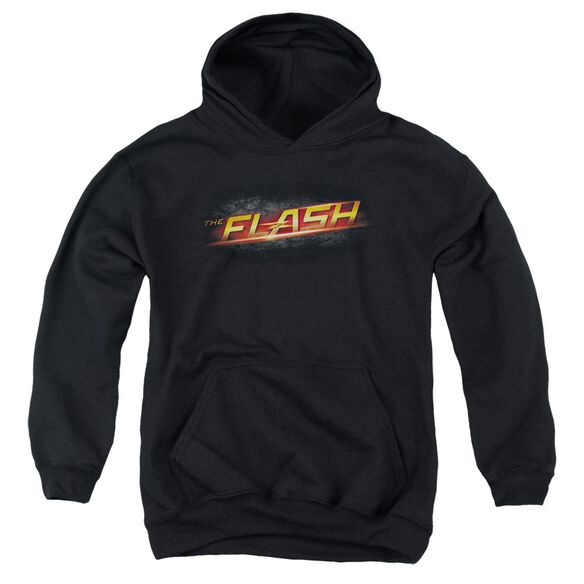 The Flash Logo Youth Pull Over Hoodie