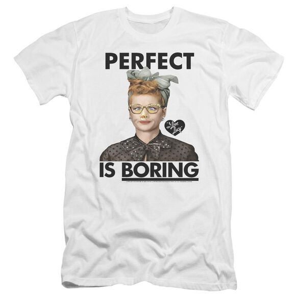 I Love Lucy Perfect Is Boring Hbo Short Sleeve Adult T-Shirt
