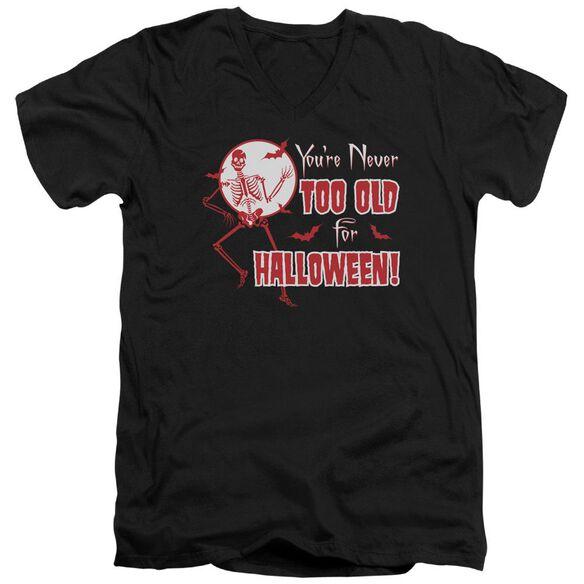 Never Too Old Short Sleeve Adult V Neck T-Shirt