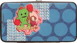 Digimon Kids and Togemon Clutch Wallet