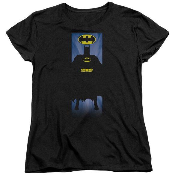 Batman Batman Block Short Sleeve Womens Tee T-Shirt