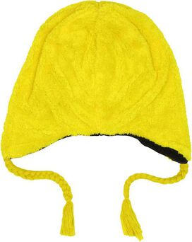 Angry Birds Yellow Plush Lapland Beanie