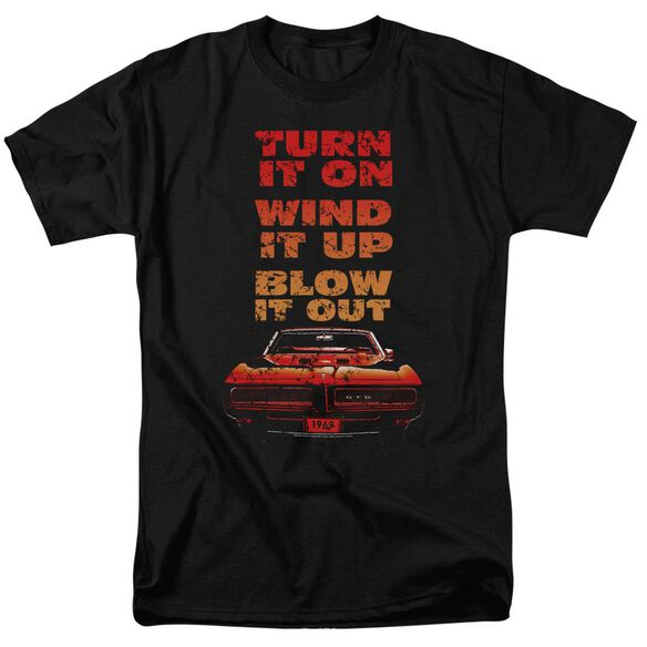 Pontiac Blow It Out Gto Short Sleeve Adult T-Shirt