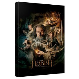The Hobbit Smaug Poster Quickpro Artwrap Back Board