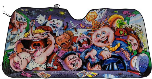 Garbage Pail Kids Sunshade