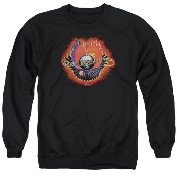 Journey Infinity Cover Adult Crewneck Sweatshirt