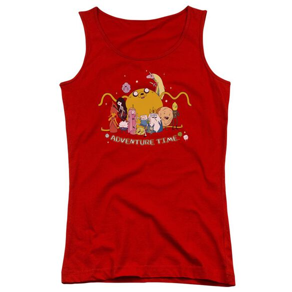 Adventure Time Outstretched Juniors Tank Top