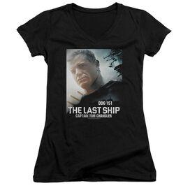 Last Ship Captain Junior V Neck T-Shirt