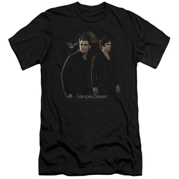 Vampire Diaries Brothers Hbo Short Sleeve Adult T-Shirt