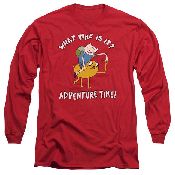 Adventure Time Ride Bump Long Sleeve Adult T-Shirt