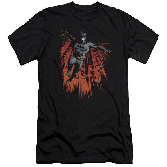Batman Majestic Short Sleeve Adult T-Shirt