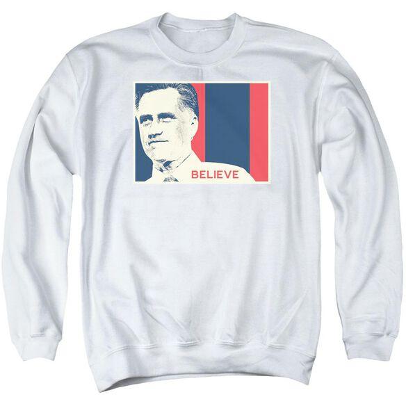 Believe Again Adult Crewneck Sweatshirt