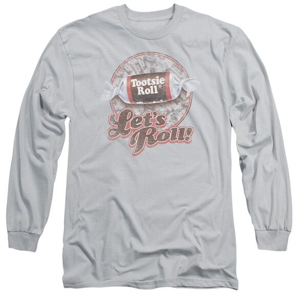 Tootsie Roll Lets Roll! Long Sleeve Adult T-Shirt