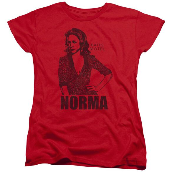 Bates Motel Norma Short Sleeve Womens Tee T-Shirt