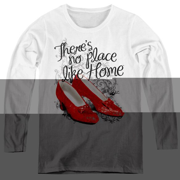 Wizard Of Oz Ruby Slippers-womens Long