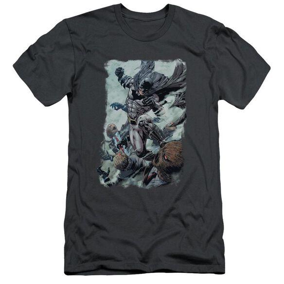 Batman Punch Short Sleeve Adult T-Shirt