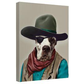 Pets Rock Cowboy Quickpro Artwrap Back Board