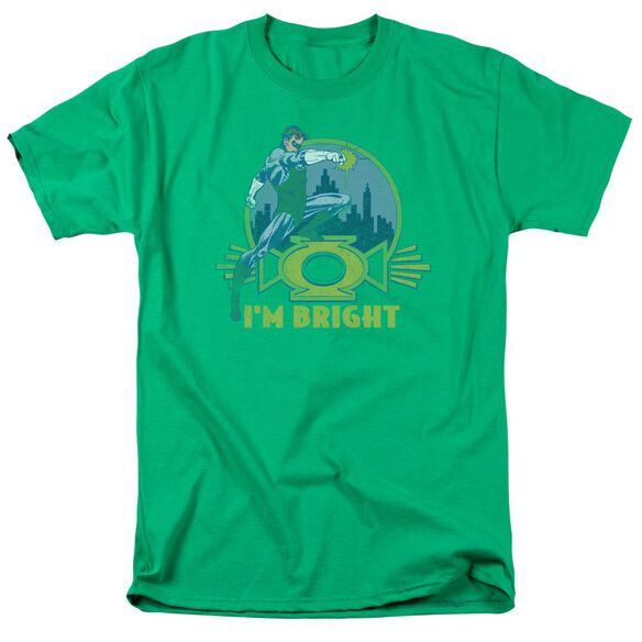Lantern Im Bright Short Sleeve Adult Kelly T-Shirt
