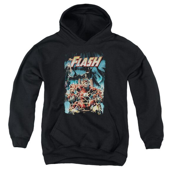 Jla Electric Chair Youth Pull Over Hoodie