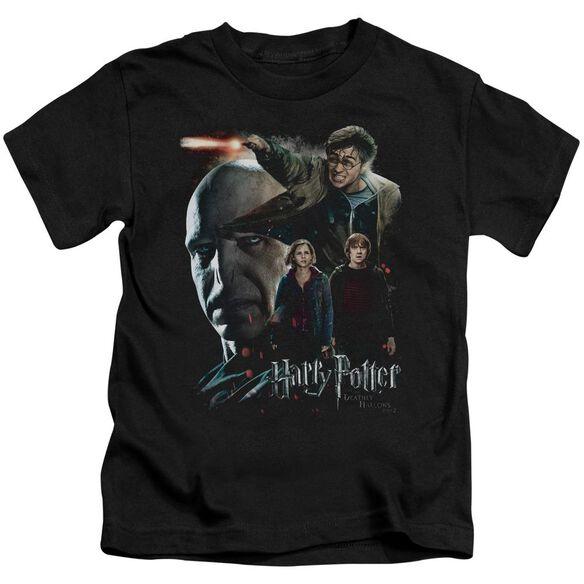 Harry Potter Final Fight Short Sleeve Juvenile T-Shirt