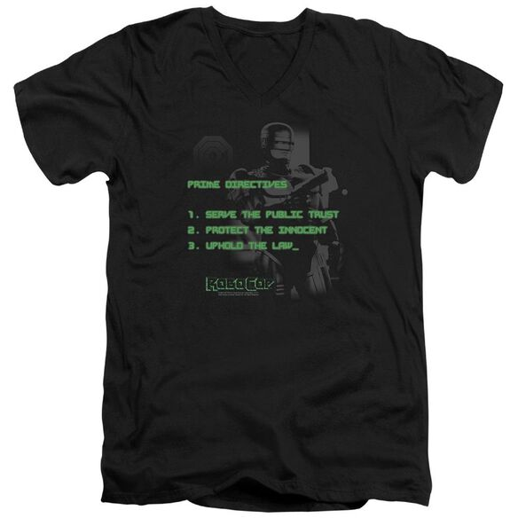 Robocop Prime Directives Short Sleeve Adult V Neck T-Shirt