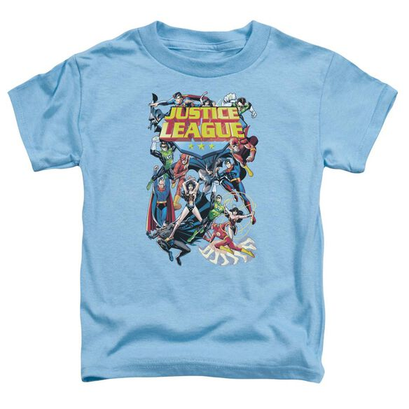 Jla League A Plenty Short Sleeve Toddler Tee Carolina Blue Sm T-Shirt