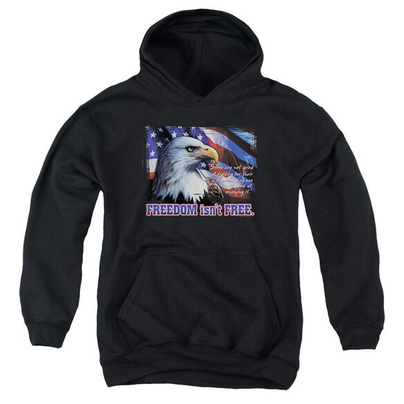 Freedom Isn't Free Youth Pull Over Hoodie