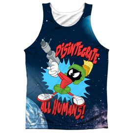 Looney Tunes Disintegrate Adult Poly Tank Top