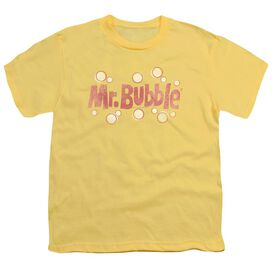 Mr Bubble Vintage Logo Short Sleeve Youth T-Shirt