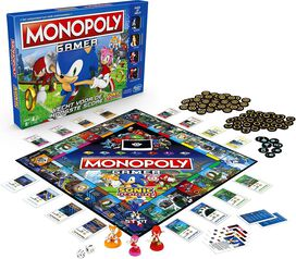 Monopoly Gamer Sonic Edition Board Game
