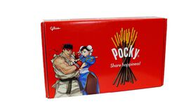 Pocky Street Fighter V Limited Edition Crate