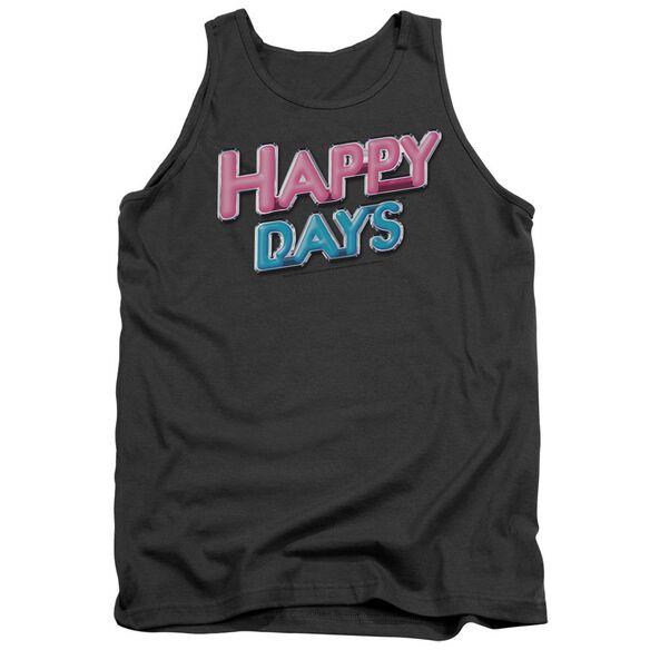 Happy Days Happy Days Logo Adult Tank
