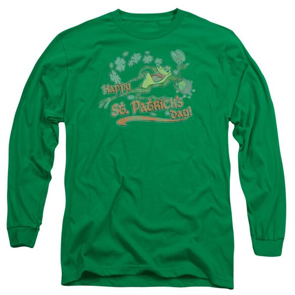 Looney Tunes Michigan J Long Sleeve Adult Kelly T-Shirt