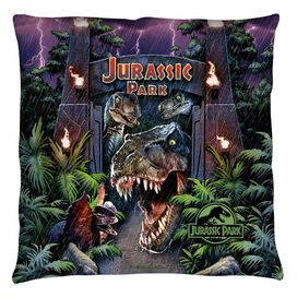 Jurassic Park Welcome To The Park Throw