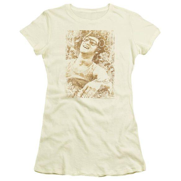 Bruce Lee Freedom Short Sleeve Junior Sheer T-Shirt