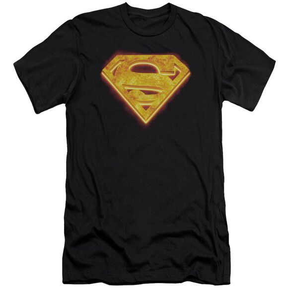 Superman Hot Steel Shield Premuim Canvas Adult Slim Fit