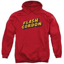 Flash Gordon Logo Adult Pull Over Hoodie