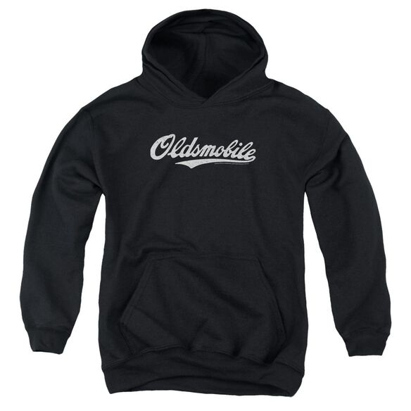 Oldsmobile Oldsmobile Cursive Logo Youth Pull Over Hoodie