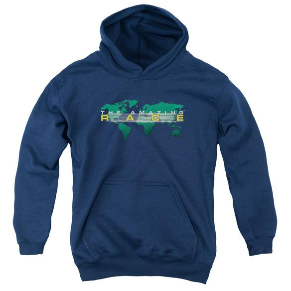 Amazing Race Around The World Youth Pull Over Hoodie
