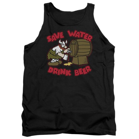 Hagar The Horrible Save Water Drink Beer Adult Tank