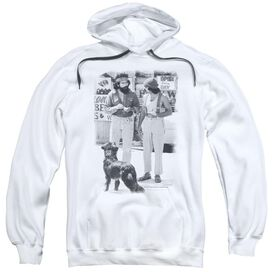Up In Smoke Cheech Chong Dog Adult Pull Over Hoodie