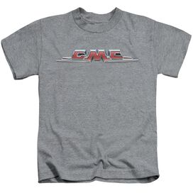 Gmc Chrome Logo Short Sleeve Juvenile Athletic T-Shirt