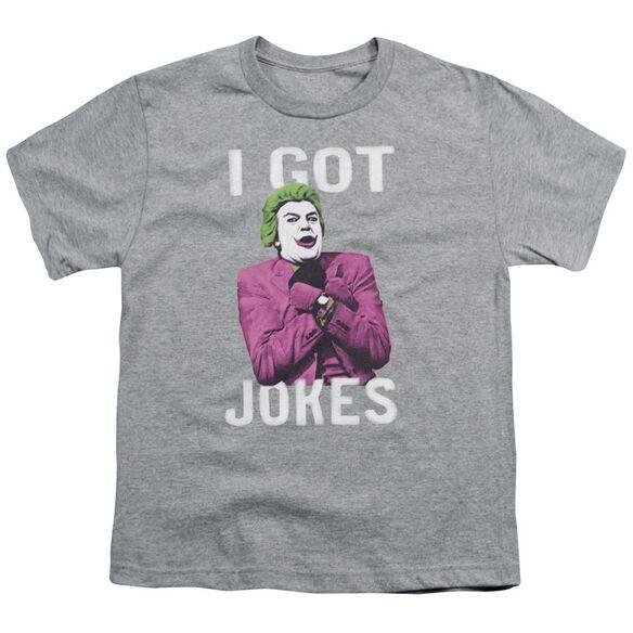 Batman Classic Tv Got Jokes Short Sleeve Youth Athletic T-Shirt
